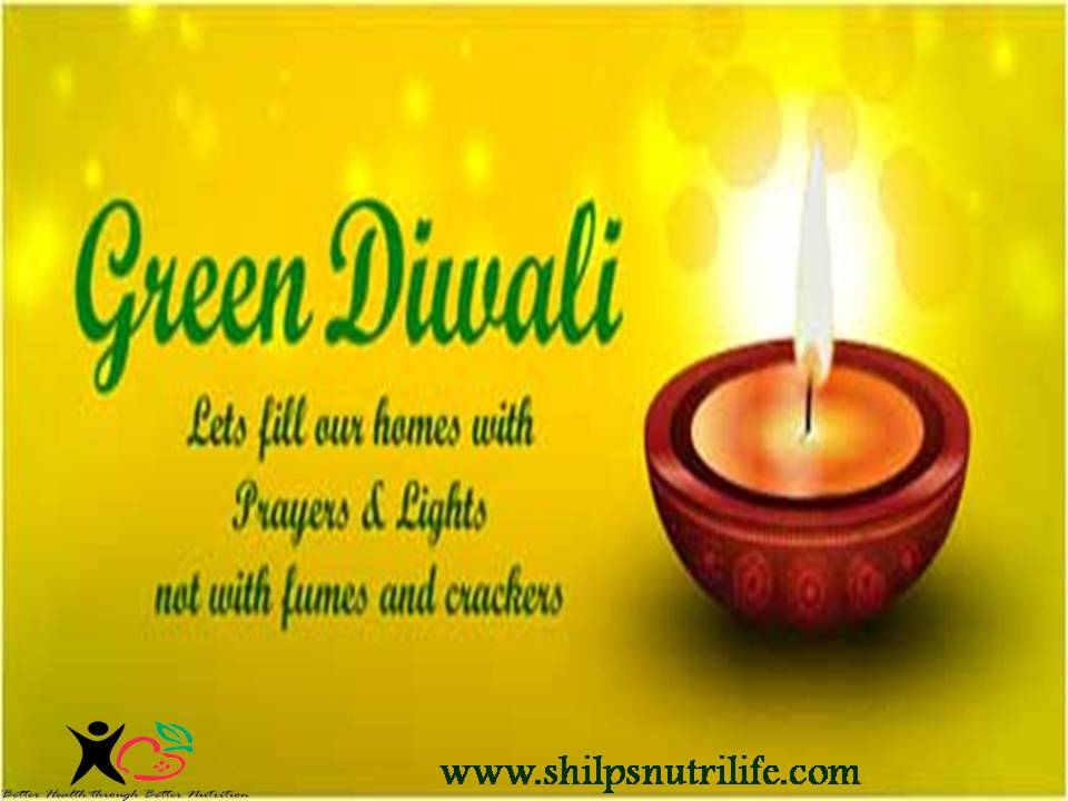 Lets all celebrate a pollution free Green Diwali