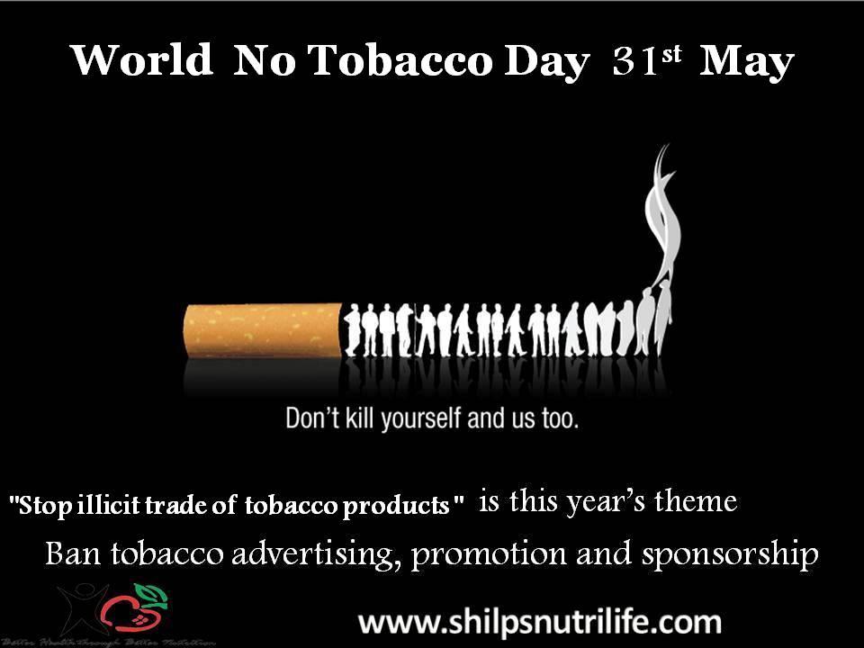 World No Tobacco Day 31st may
