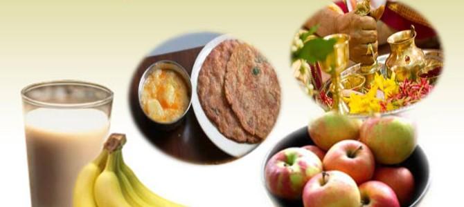 Healthy fasting during festive season