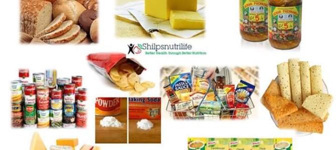 Hidden sources of salt in our diet