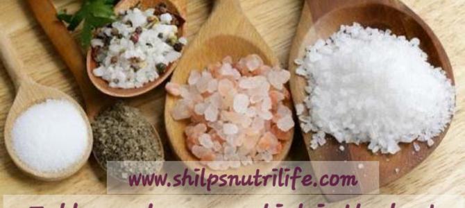 Salt salt salt…Table, rock or sea which is the best