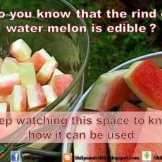 Watermelon white portion benefits