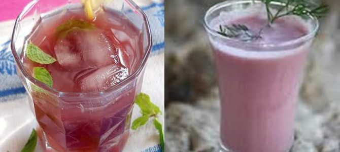 Kokum juice /solkadhi – refreshing summer drink