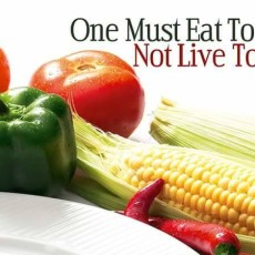 We have to pay the price for how we live and what we eat