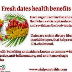 Fresh dates benefits