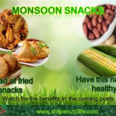 Enjoy rains with healthy Monsoon snacks