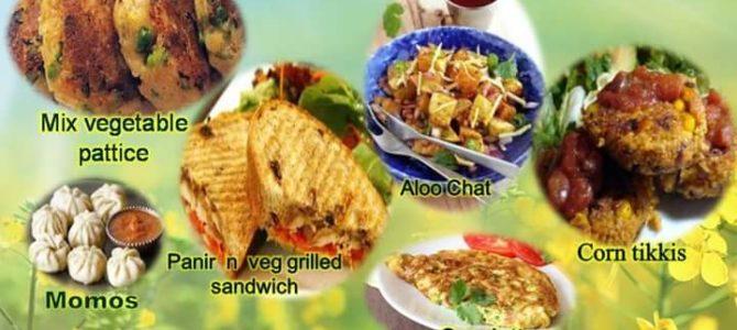 Healthy Monsoon Snacks