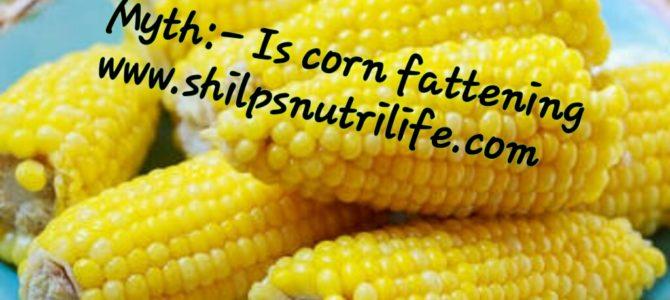 Is corn fattening