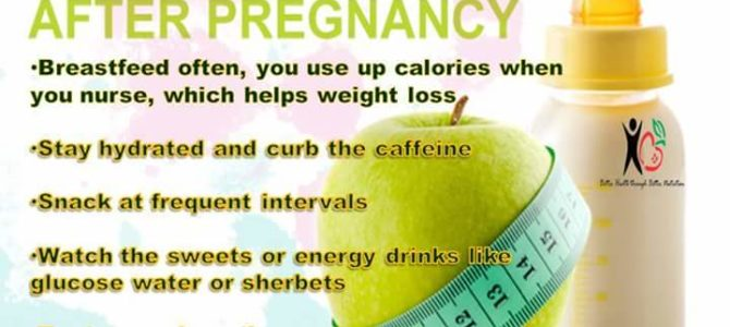 DEALNG WITH POST PREGNANCY WEIGHT GAIN