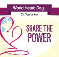 World Heart day 29th September