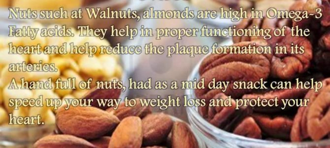 Heart Healthy Foods – Nuts