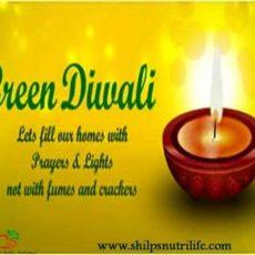 Celebrate Green Diwali