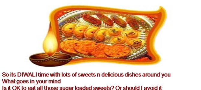 Eat Healthy This Diwali
