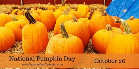 World Pumpkin Day October 26th