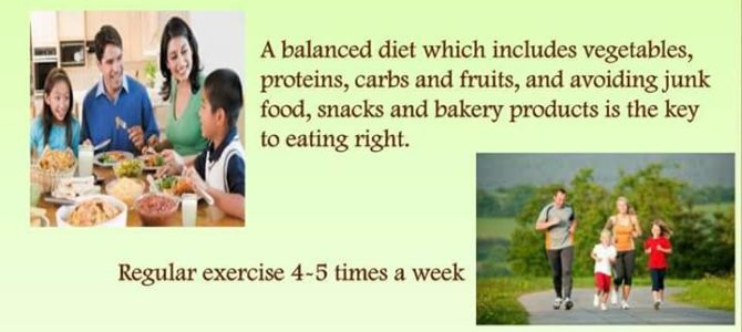Being a Healthy Eating Role Model –Anti obesity day special