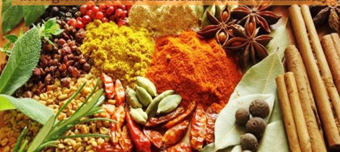 Herbs, spices and condiments to keep you warm in winter