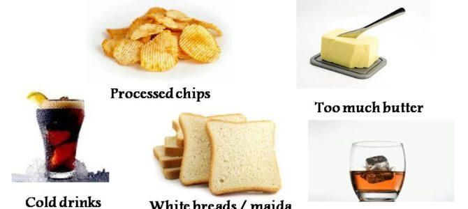 Foods to avoid in winter