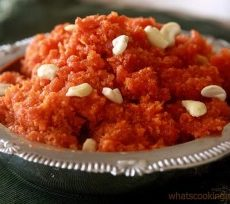 Carrot Halwa with a low cal twist