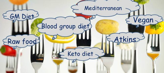 Do you think going on a diet means following any of this…. Think again