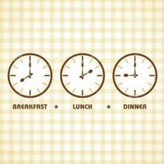 Eat Dinner at least two hours before bedtime