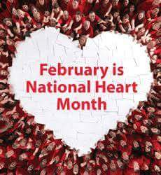 February is National Heart Month