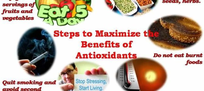 Steps to Maximize the Benefits of Antioxidants