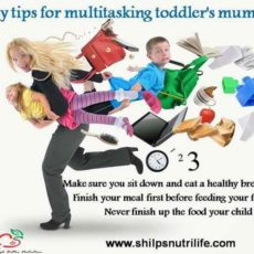 Multitasking moms a few nutritional tips