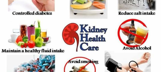 Steps for maintaining a Healthy kidney