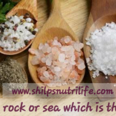 Salt, Salt table, rock or sea which is the best