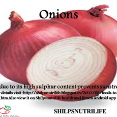 Onions and sunstroke