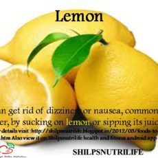 Lemon and sunstroke