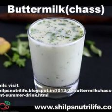 Buttermilk – Healthy Summer drinks series