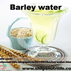 Barely water – healthy summer drink