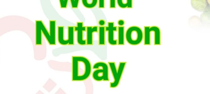 World Nutrition Day