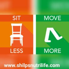 Sit less move more