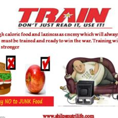 Train for battle – independence from obesity
