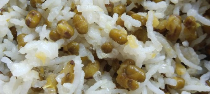 Dhanteras special Moong rice