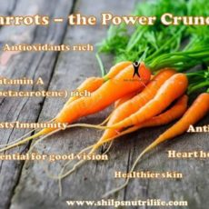 Carrots 🥕 The Power Crunch