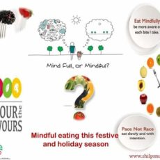 Eat mindfully 💭 this festive and holiday season
