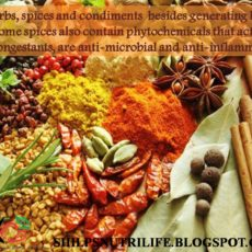 Herbs, spices and condiments to keep you warm in winter.