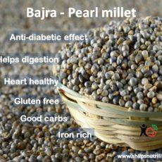 Bajra the warning millet