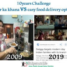 Ghar ka khana (Home cooked)  vs easy food delivery options