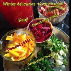 Winter delicacies to stock on