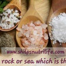 Salt  salt salt… Table or sea which is the best?
